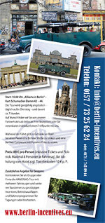Flyer Berlin Incentives